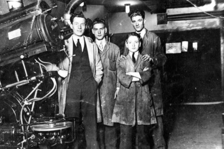 Cinema projectionists